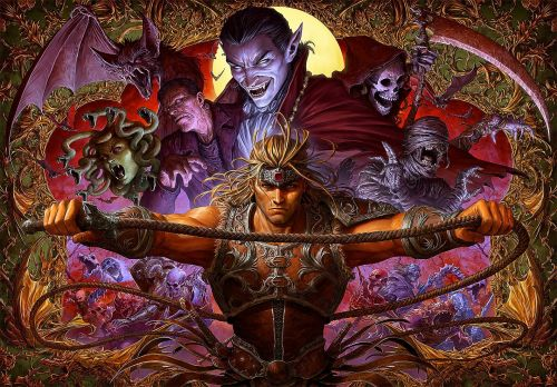 Let's take a moment to appreciate this sick Castlevania art piece