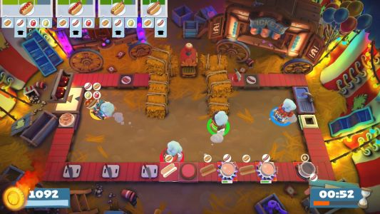 Review: Overcooked 2 - Carnival of Chaos