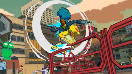 Here's A Fresh Look At Bomb Rush Cyberfunk In Action
