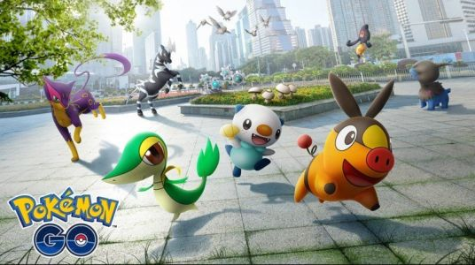 Pokémon Go Unova region Pokémon are live