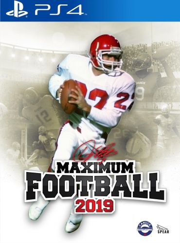 Official release date and cover art announced for Maximum Football 2019
