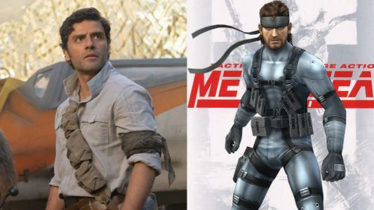 Oscar Isaac Reported To Play Solid Snake In The Metal Gear Solid Movie
