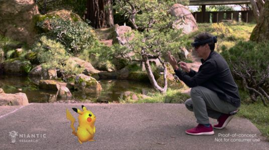 Pokémon Go On HoloLens Looks Incredible In New Demo From Microsoft