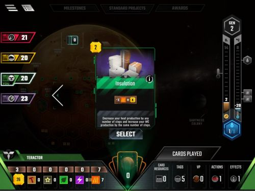 We Can't Wait for Terraforming Mars Mobile to leave Beta