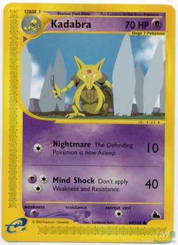 Longstanding Ban On Pokemon TCG Printing Kadabra Cards To Be Lifted