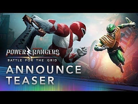 Power Rangers: Battle for the Grid Announced