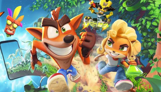 Crash Bandicoot is getting another game this year.a mobile game