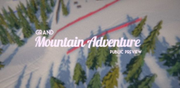 Grand Mountain Adventure is one of the best skiing games on Android, and it's not even finished yet