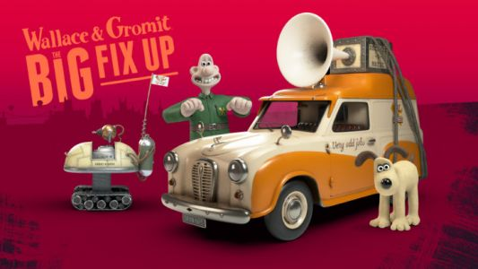 Wallace & Gromit enter the realm of augmented reality in The Big Fix Up, now available on Android