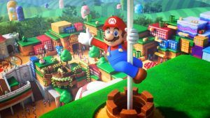 Super Nintendo World Aerial Shots Show A Real Mushroom Kingdom