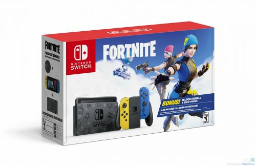 "North America Adds New Fortnite Switch Bundle For ""Cyber Monday"""