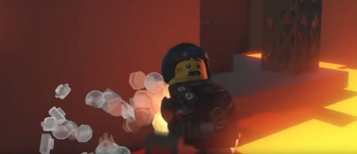 One legend recreated Shadow Moses from Metal Gear Solid in LEGO Worlds