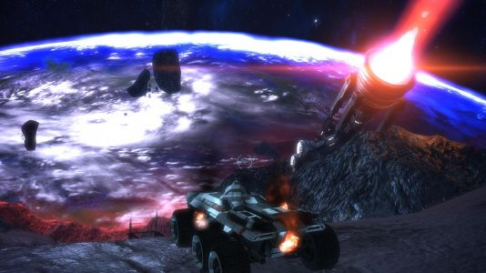 Mass Effect Replay: Galaxy map music forever and an extinction level event