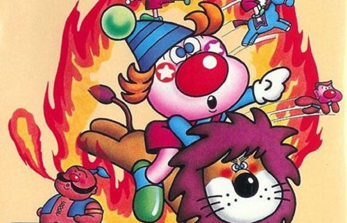 Roll up for this week's Arcade Archives release, Circus Charlie