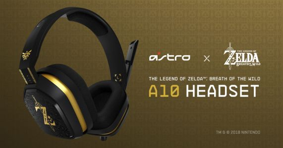 Astro Partners With Nintendo Starting With Zelda-Themed Headset