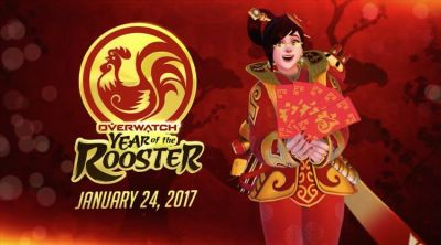 Overwatch's 'Year of the Rooster' kicks off January 24
