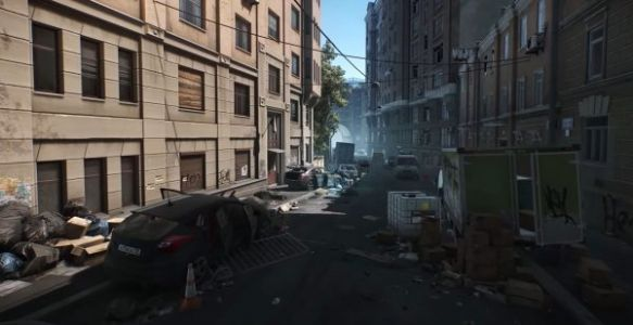 Here's a new look at Escape From Tarkov's Streets of Tarkov map