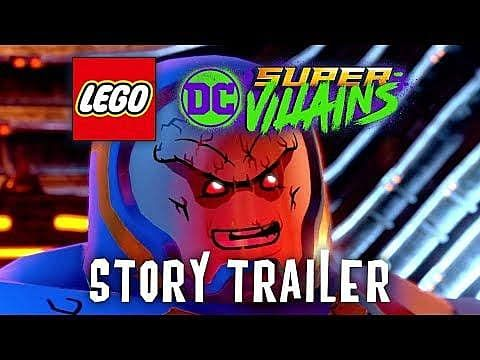 Lego DC Super-Villains New Story Trailer Released