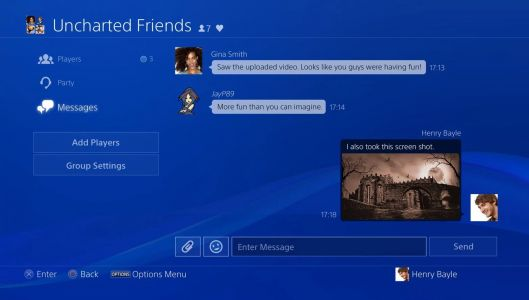 Sony is looking for feedback for the new PS4 party changes