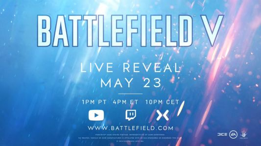 Watch the reveal of Battlefield V on May 23, 2018