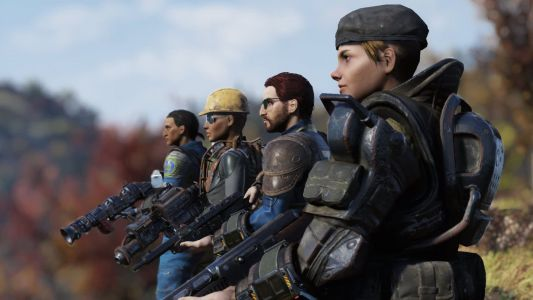 Here's the Brotherhood of Steel in action in Fallout 76