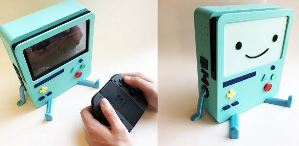 Oh look, it's an Adventure Time BMO Switch charging station