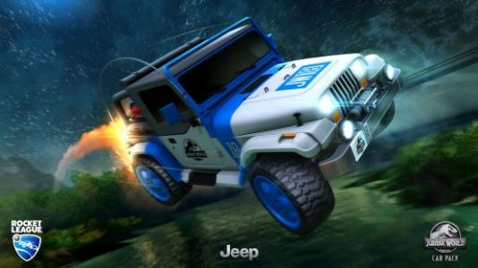 Rocket League Jurassic Park DLC Out Today, Features Various Items