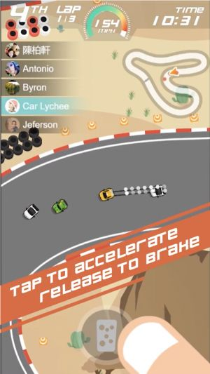 'Pocket Racing' to Bring Single-Tap Racing to iOS Next Week