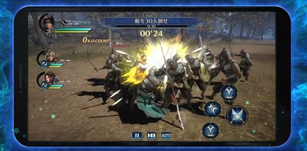 Dynasty Warriors is coming to iOS and Android