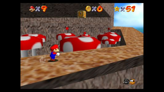 Super Mario 64: Tall, Tall Mountain Stars