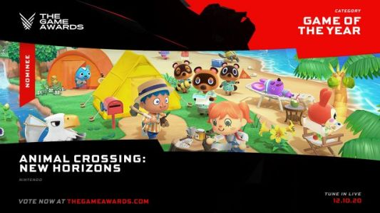 Animal Crossing: New Horizons Nominated For The Game Awards' Game Of The Year