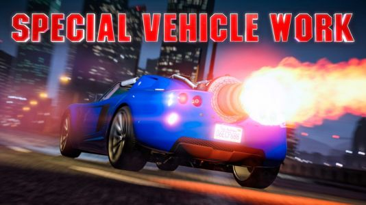 Double Rewards on Special Vehicle Work This Week in GTA Online