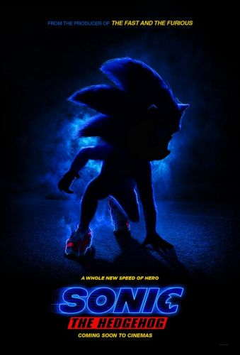 Sonic the Hedgehog Live-Action Film Poster Released