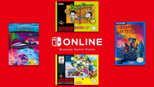 Four New Games Added to Nintendo Switch Online