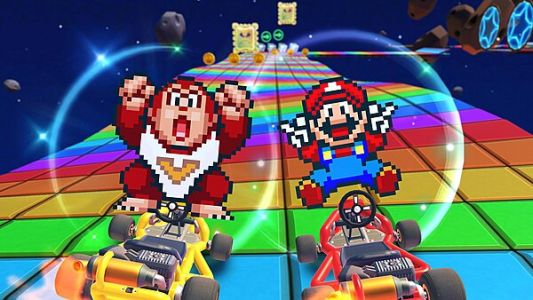 "Mario Kart Tour kicks off the ""Super Mario Kart"" Tour on Sept. 8th, Mario and Donkey Kong Jr. included"