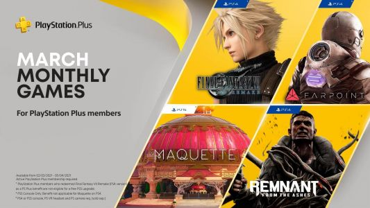 Final Fantasy 7 Remake headlines a stellar March PS Plus lineup