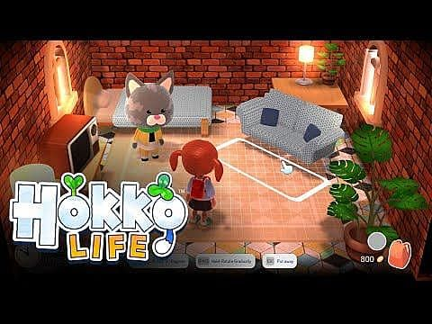 Create Every Aspect of Your Dream Town in Life-Sim Hokko Life