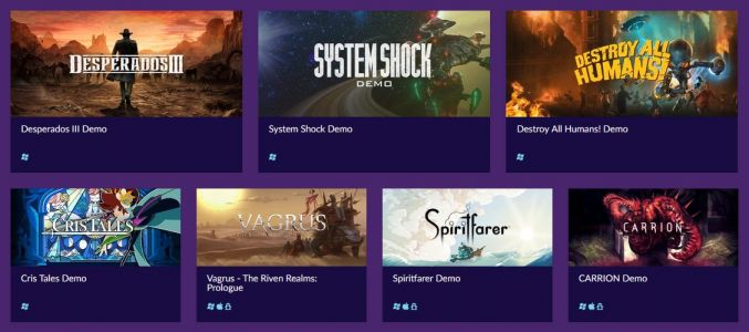 Demos for System Shock, Destroy All Humans, and five other upcoming games popped up on GOG