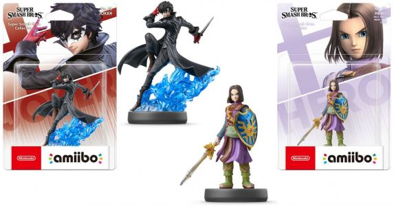 Smash Bros. amiibo for Joker and Hero launch this October