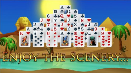 Pyramid Solitaire: Ancient Egypt is a challenging, addictive take on solitaire