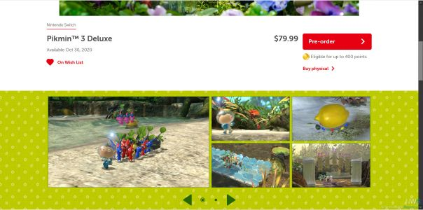 Switch eShop Now Offers Preorders Of Upcoming Games