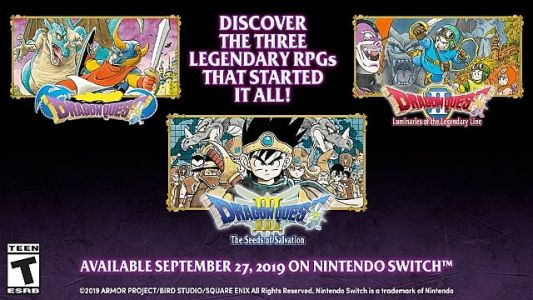 Dragon Quest Switch Ports to Receive Western Release