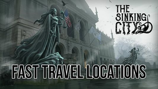 The Sinking City Fast Travel Phone Booth Locations