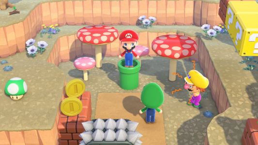 It's worth keeping an extra Warp Pipe on-hand in Animal Crossing