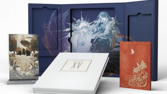 Final Fantasy 15 is getting a lavish $200 hardcover book of lore, concept art and more