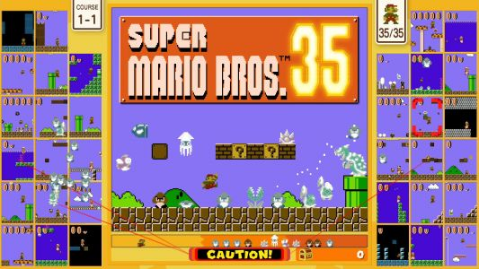 Super Mario Bros. 35 Is Available Now