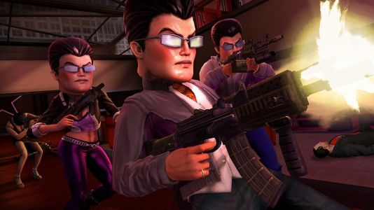 Saint's Row: The Third is bringing its octopi guns, tigers in cars and ball-shots to Nintendo Switch