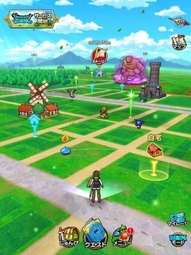 Dragon Quest Walk Tops 5 Million Downloads