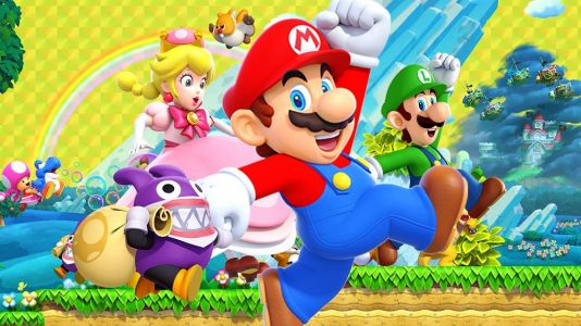 New Super Mario Bros. U Deluxe leaps to the top of the UK Charts