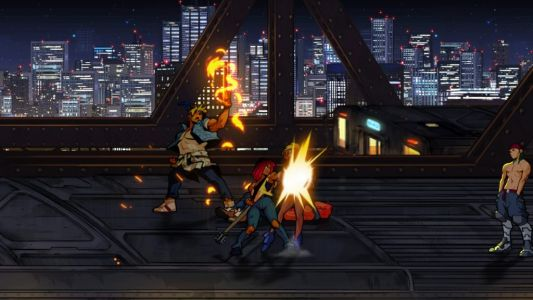Streets of Rage 4 DLC 'Mr. X Nightmare' adds Max Thunder